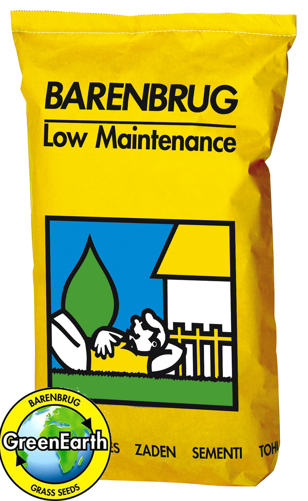 Graszaad Barenbrug Low Maintenance speelgazon 10Kg
