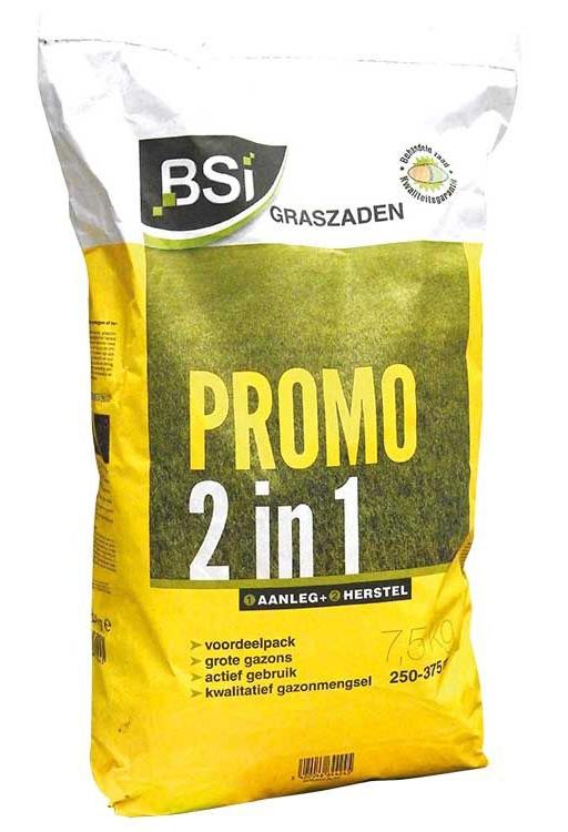 Graszaad promo 2 in 1 Aanleg + Herstel 375 m²