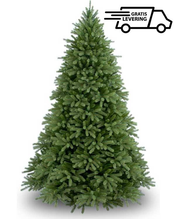 Volle kunstkerstboom groen Jersey Fraser 228cm