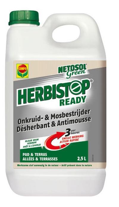 Herbistop gebruiksklare onkruidbestrijder pad en terras 2,5L
