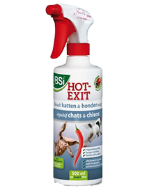 BSI Hot Exit spray om katten te weren uit tuin 500ml