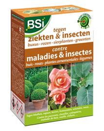 Bestrijden van insecten en ziekten op rozen, buxus en groenten 100m²