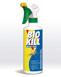 Bio kill insectenspray voor gebruik in huis 500ml