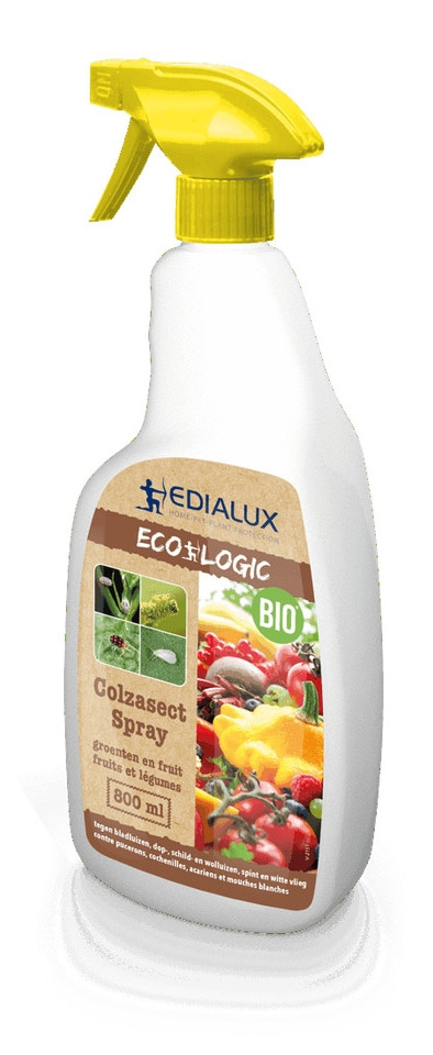 Insecten bestrijden in moestuin Colzasect Spray 800 ml