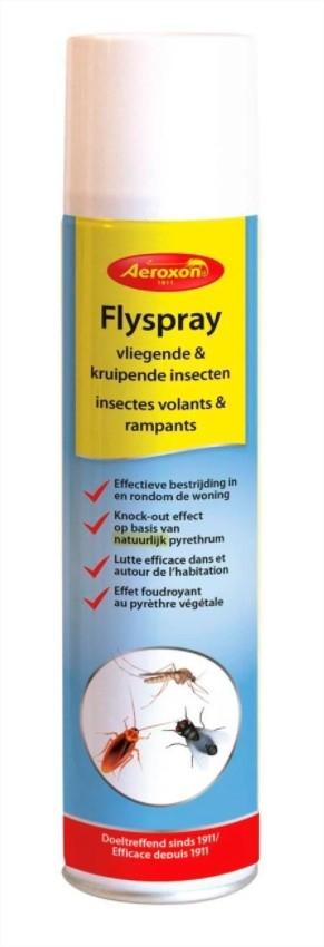 Insecten in huis bestrijden met Flyspray 400 ml