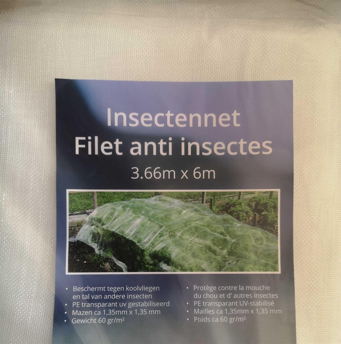 Insectengaas 3,66 x 6m