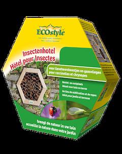 Ecostyle Insectenhotel lieveheersbeestjes & gaasvliegen