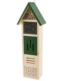 Insectenhotel natuurpunt voor bijen, vlinders en lieveheersbeestjes