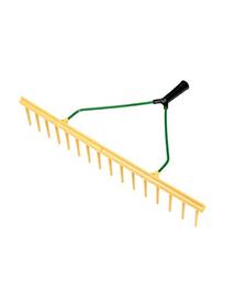 Brede Inzaai Hark PVC voor inharken van graszaad 64cm