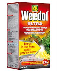 KB Weedol Ultra Totale Onkruidverdelger 250ml