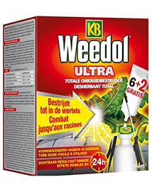 KB Weedol Ultra tubes Totale onkruidverdelger 160m²