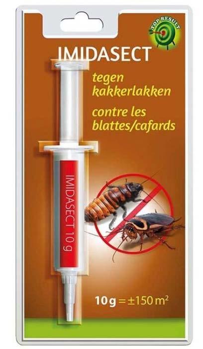 Kakkerlakken bestrijden in huis met lokgel
