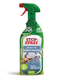 Anti katten - honden spray BSI Stop spray 800ml