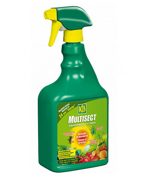 KB Multisect Fruit & Groenten spray 750ml
