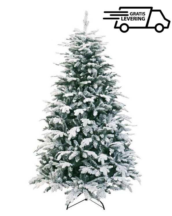 Kerstboom met sneeuw Oslo Large 225 cm