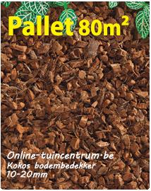 Kokos bodembedekker per pallet 80m²