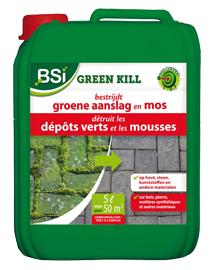 BSI Green kill Groene aanslag en korstmos bestrijden 50m²