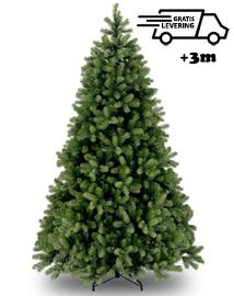 Grote realistische kunstkerstboom Premium Green Hill 306cm