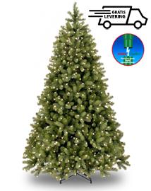 Grote kunstkerstboom met verlichting Glowing Miracle 306cm