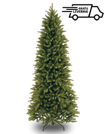 Hoge smalle kunstkerstboom Tall Fraser 213cm