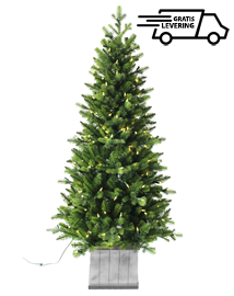"""Kunstkerstboom met lichtjes """"Nordic Christmas"""" 137cm"""