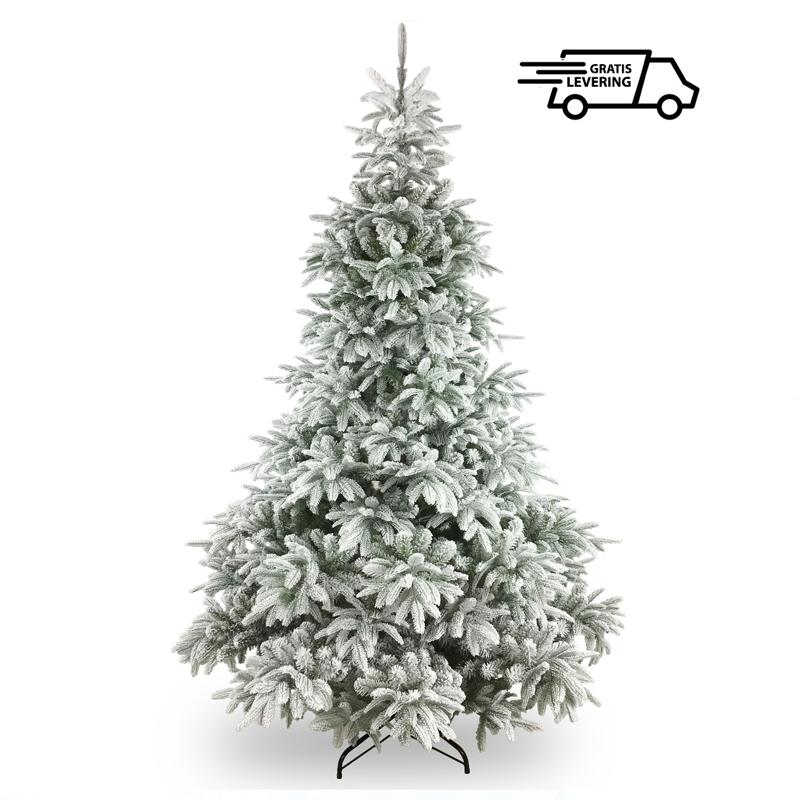Kunstkerstboom met sneeuw Flokky 183 cm
