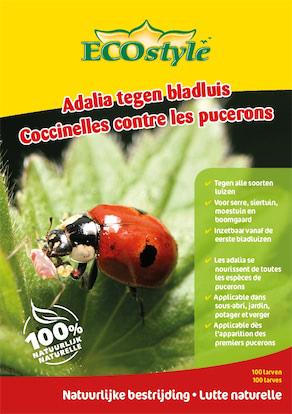 Ecostyle Lieveheersbeestjes larven 100 stuks