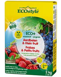 Ecostyle Mest voor Aardbeien & Klein fruit ECO+ 20m²