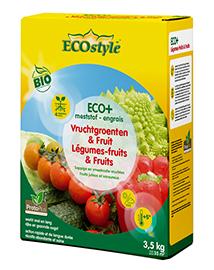 Ecostyle Mest voor Vruchtgroenten en Fruit ECO+ 35m²