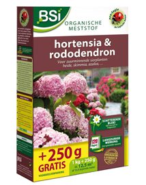 Meststof hortensia & rhododendron 1000+250g