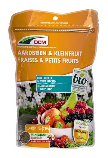 Meststof voor aardbeien en kleinfruit 750 g