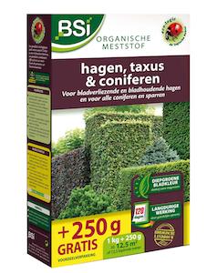 BSI Hagen, Taxus en Coniferen Meststof 1,25 Kg