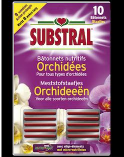 Substral Meststofstaafjes voor Orchideeën 10st