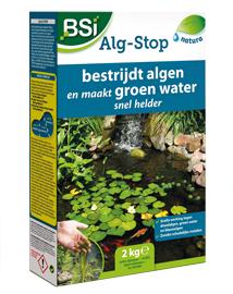 Algen in vijver en blauwalg bestrijden met BSI Alg Stop 2kg