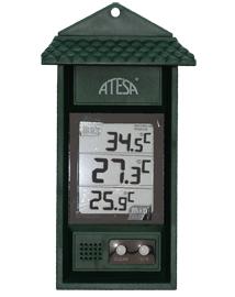 Digitale thermometer min max