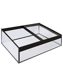 Mini Serre Aluminium en polycarbonaat Magi
