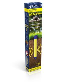 Mole Free diervriendelijk mollen verjagen