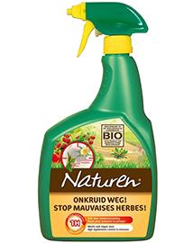 Naturen Onkruid weg onkruidbestrijder spray met azijnzuur 1L
