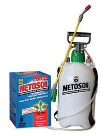 Compo Netosol Ultra onkruidbestrijder met sproeier 500m²