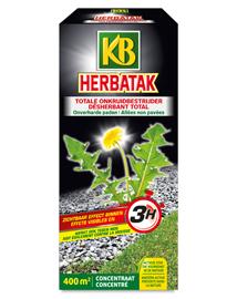 KB Herbatak totale onkruidverdelger voor opritten 900ml
