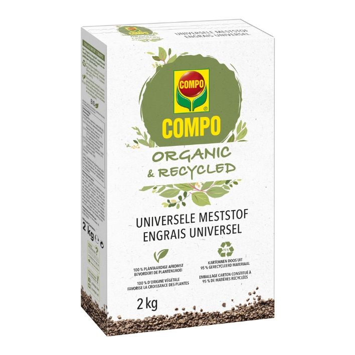 """Organische meststof COMPO """"Organic & Recycled"""" 2kg"""