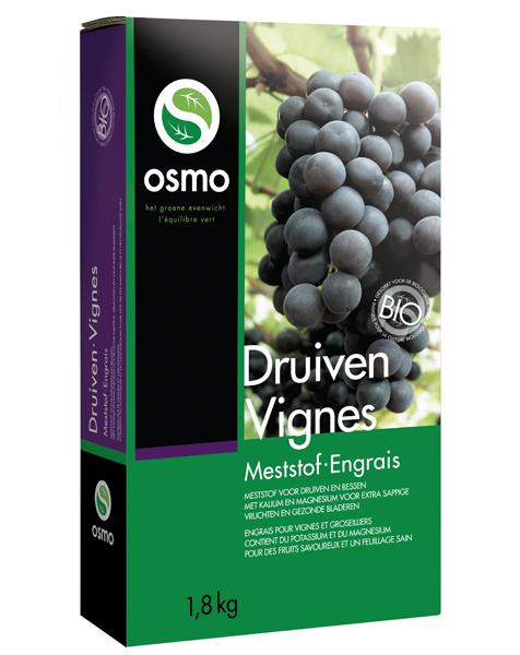 Osmo Druiven Biologische meststof 1,8 Kg