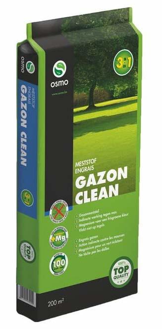Osmo Gazon Clean gazonmest indirecte werking tegen mos 20kg