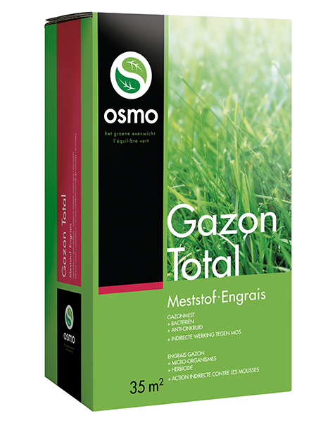 Osmo Gazonmest Total 4 in 1 3,5kg