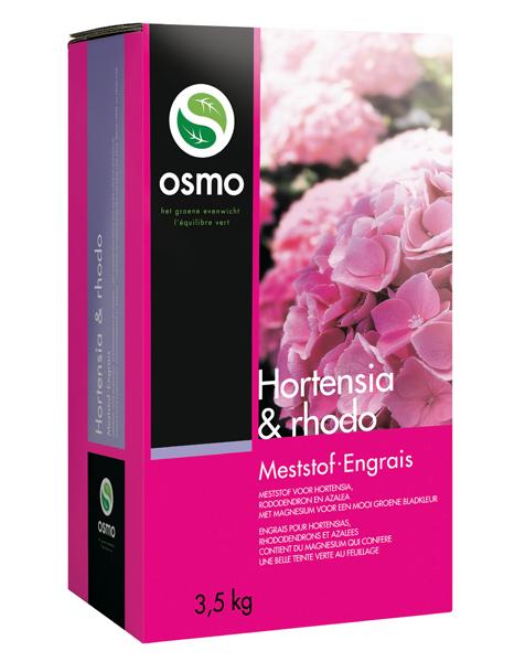 Osmo Hortensia & Rhodo meststof 3,5 Kg