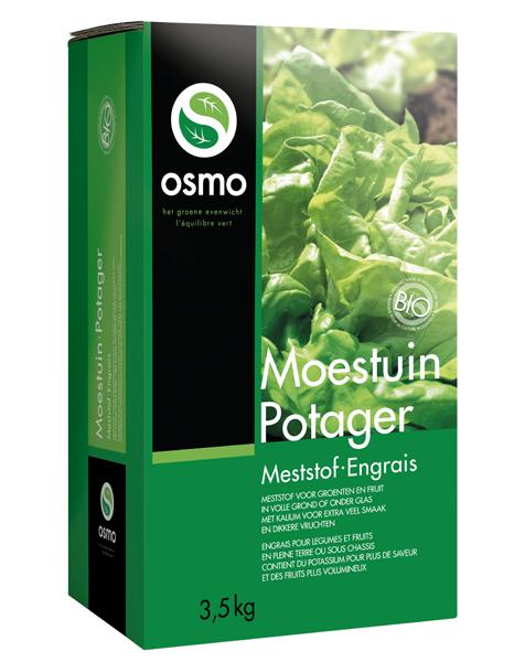 Osmo Moestuin Biologische meststof 3,5Kg