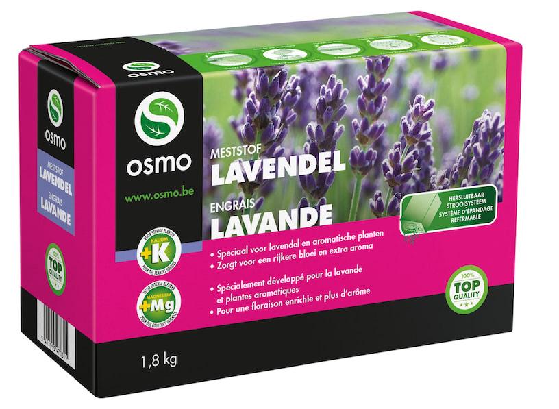 Osmo Lavendel en andere kruiden meststof 1,8 Kg
