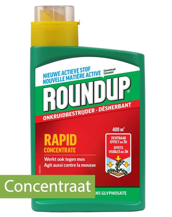 RoundUp concentraat tegen grassen en onkruid 400m²