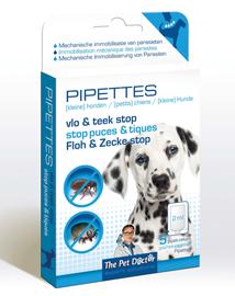 Pipet tegen vlooien en teken bij honden 5x2ml