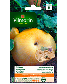 Vilmorin Pompoen zaden Gele Reuzen van Parijs 5g